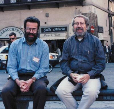Peter Kollman and David Case, circa 2000